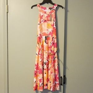 Cute springtime sleeveless dress